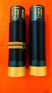 Lot Of 2 Sensor Inst Spectro 3 50 fcl Color Sensor both Lenses Have Cracks 5a