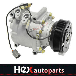 Ac Compressor A C For 2001 Honda Civic 1 7l 97 01 Prelude 2 2l 38810p5m006