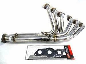 Obx Long Tube Header Manifold Fits 93 94 95 96 97 Toyota Supra 2jz Ge Non Turbo