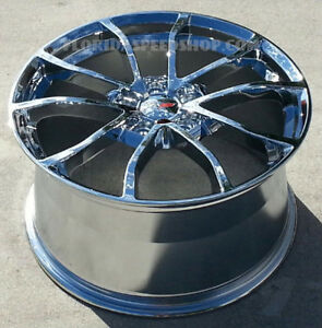 Chrome C7 Grand Sport Cup Style Corvette Wheels For 2005 2013 C6 Base 18 19