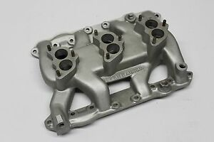 Offenhauser 241 270 Dodge Intake Manifold Aluminum Triple Carb Tri Power Set up