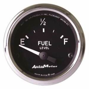 Autometer 2 1 16 Fuel Level 16 158 Ohm Gauge For Mustang And Ford