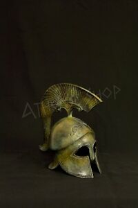 Ancient Bronze Helmet