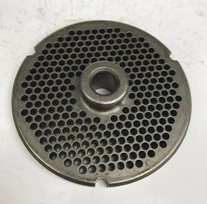 Used Kasco Powermate 32 Hubbed Meat Grinder Plate 9 64 Holes Free Shipping