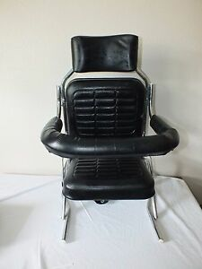 Vintage 60 S Baby Child Kids Car Seat Chevy Ford Dodge Ss Impala Black Vinyl