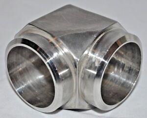 1 1 2 Socket Weld 90 Elbow 316 Stainless Steel Pipe Fitting S 40 B691 Al6xn