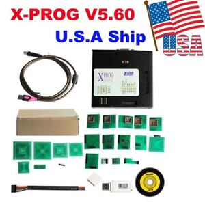 Usa Shipping New X prog Box Ecu Programmer Tool Xprog m V5 60 With Usb Dongle