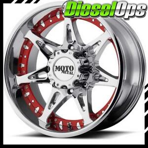 Moto Metal Mo961 Chrome Wheels 20x10 With 8x170 Bolt Pattern