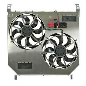 Flex A Lite Dual Electric Fans W Controller For Ford Powerstroke 6 0l 2003 2007