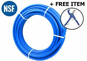 1 X 100 Ft Blue Pex Tubing Pex b 1 inch 100 Potable Water Nonbarrier 1 Item