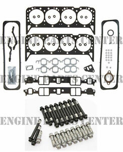 Head Gasket Set Head Bolts Chevy Gmc 5 7 350 Vin K Tbi 1987 96 Ehc99s Hs5746a