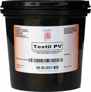 Saati Textil Pv Photopolymer Screen Printing Emulsion Quart Free Shipping