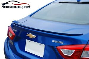 5693m Painted Factory Style Lip Spoiler For The 2016 2018 Chevrolet Cruze