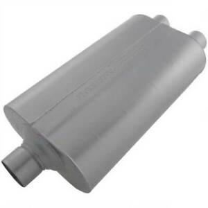 Flowmaster 525552 Super 50 Series Muffler 2 5 In 2 25 Out 23 Long
