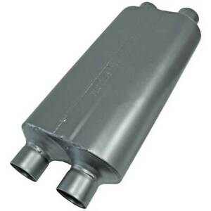Flowmaster 8525554 50 Series Hd Muffler 2 5 In 2 5 Out 23 Long
