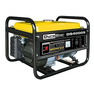 Portable Gasoline Generator 4000w Workplace Heavy Duty Quiet Appliances Power Us