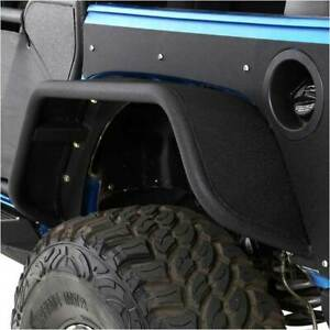 Smittybilt Xrc Flux Flares Rear For Jeep Wrangler Jk 2dr 4dr 2007 2015