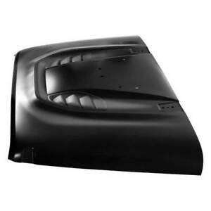Smittybilt Src Stingray Vented Hood Black For Jeep Jk wrangler Unlimited 07 16