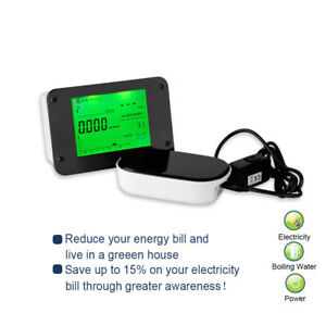 Wireless Electricity Electric Energy Monitor Smart Meter Energy Saving