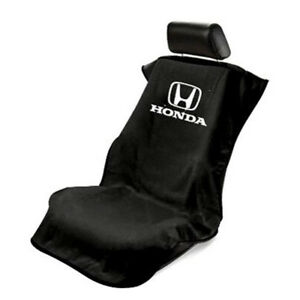 Seat Armour Universal Black Towel Front Seat Cover For Honda