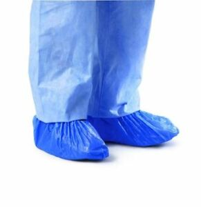 Cri2010 Impervious Polyethylene Shoe Covers blue universal