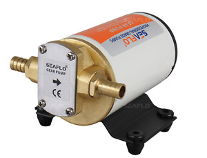 All New Seaflo 12v 3 2gpm Gear Pump For Oil water fuel diesel Transfer