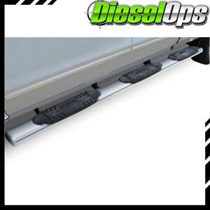 Raptor Series 6 Ss Oval Step Bars For Gm 1500 2500 3500 6 5 8 Bed 00 17 Cc