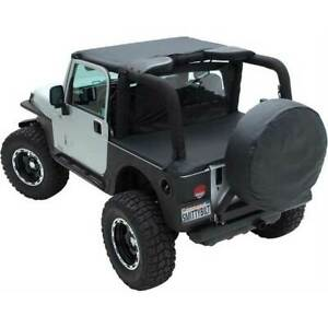 Smittybilt Standard Top Black For Jeep Wrangler Yj 1987 1991