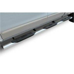 Raptor Series 4 Ss Oval Step Bars For Gm 1500 2500 3500 6 5 Bed 1999 2017 Ec