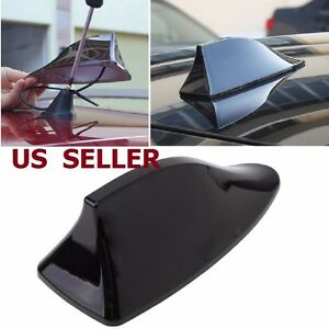 Universal Abs Car Roof Style Shark Fin Shape Antenna Radio Signal Aerials Am fm
