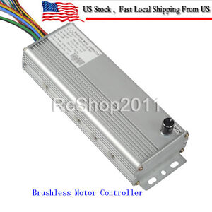 48v 72v 1500w Electric Bicycle Brushless Motor Controller For E bike