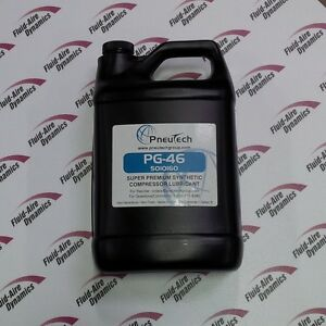 1 Gallon Of Full Synthetic Rotary Air Compressor Lubricant Oil Oem Compatible