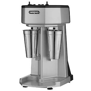 Waring Wdm240 Dual Head Milk Shake Drink Mixer Counter Top 1 Hp