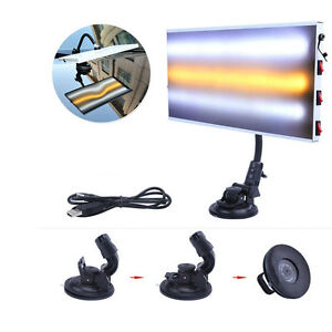 Led Light Paintless Dent Repair Hail Removal 3 Strips Auto Body Lamp