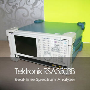 Tektronix Rsa3303b Real time Spectrum Analyzer Dc 3 Ghz 02 21 Opt