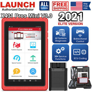 Launch X431 Pros Mini Auto Scanpad Obdii Can Diagnostic Scanner Tool As V V