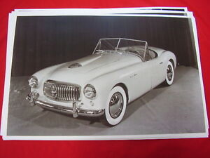 1951 Nash Healy Convertible 11 X 17 Photo Picture