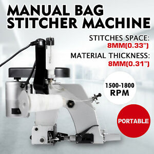 Bag Closer Closing Machine Sewing Stitcher Quilting Tool 110v Portable Electric