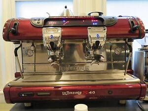 La Spaziale S40 Espresso Machine And 2 Mazzer Super Jolly Grinders