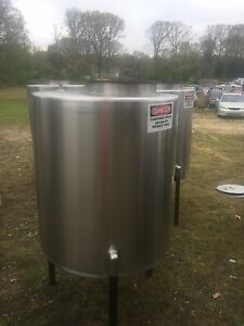 337gallon Food Grade Stainless Steel Tanks use To Make Beer moonshine wine ect