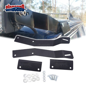 50 Led Light Bar Roof No Drill Mount Brackets For Jeep Cherokee Xj 1984 2001