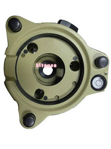 Armygreen Three jaw High Precise Tribrach With Optical For Leica Total Station
