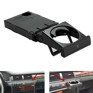 Cup Holder Black For Audi A6 C5 98 05 A4 98 02