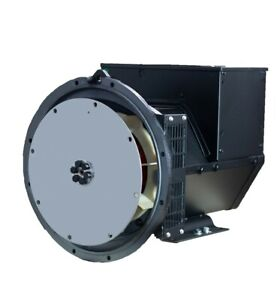 Generator Alternator Head Cgg184j 40kw 3phase Sae4 6 5 277 480 Volts Industrial