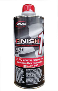 Sherwin Williams Finish 1 2 1 Clearcoat Hardener Fast 1 Quart Fh741