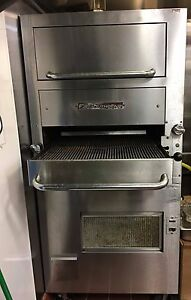 Southbend Gas Upright Infrared Broiler With Warming Oven Model 171d 4