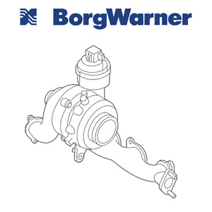 Vw For Audi A3 Beetle Golf Jetta 2 0 Diesel Turbocharger W Exhaust Manifold Oem