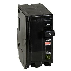 Square D By Schneider Electric Qo270cp Qo 70 amp Two pole Circuit Breaker