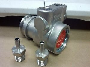 Procon Pump Stainless Steel 15 To 140 Gpm 250 Max Psi 3 8 Npt