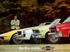 Vintage Lot Over 200 Ads 1968 1969 1970 1971 Camaro corvette chevelle nova gto